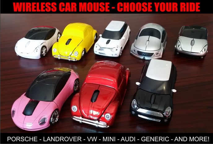 Car Shape Wireless Mouse – Promotional Items