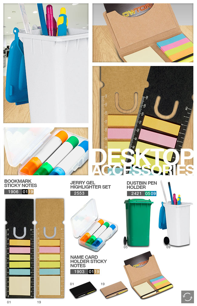 Desktop Accessories – Promotional Gifts