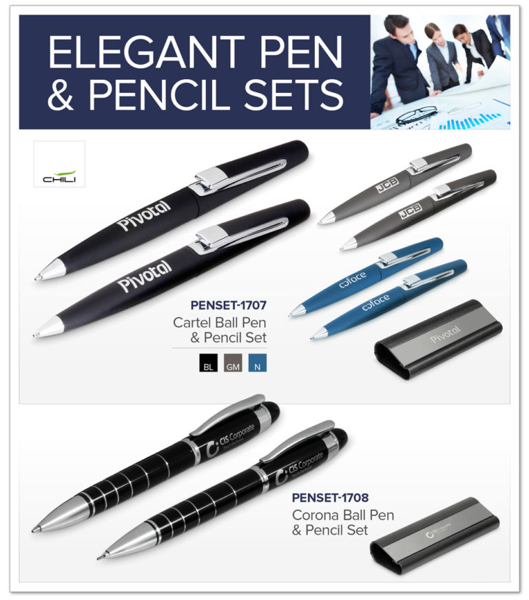 Elegant Pen and Pencil Sets