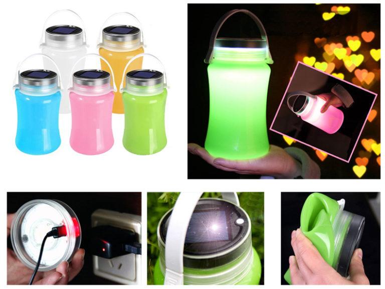 Silicone Solar Lantern – Sun jars – Promotional Items