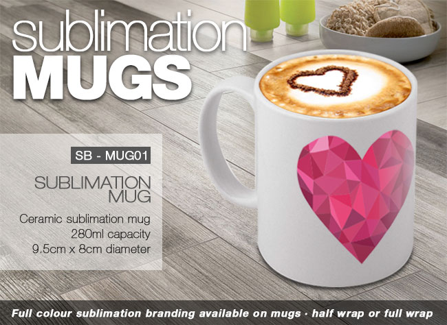 Sublimation Mugs – Promotional Gifts