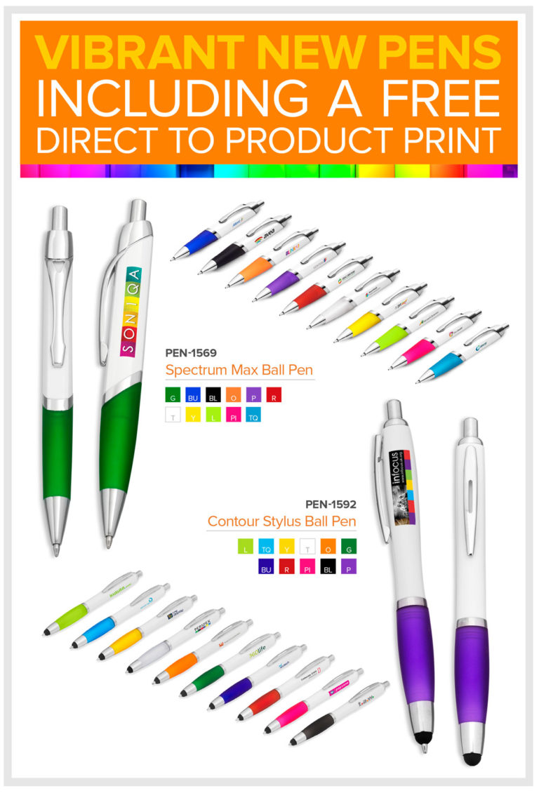 Vibrant New Pen – Promotional Gift
