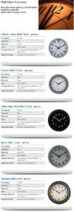 Wall clock Promotion_np