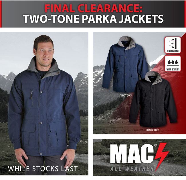 Parka Jackets – Promotional Clothing