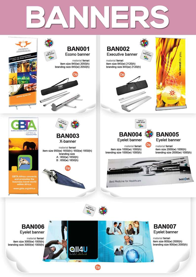 printed banners, banners, portable signage