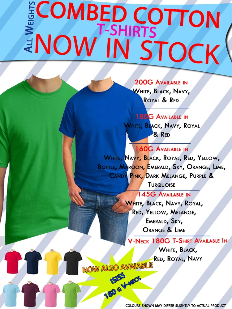 Cotton T-Shirts – Promotional Clothing