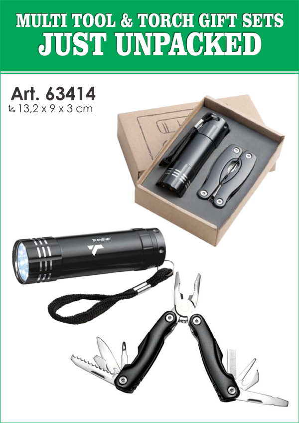 Multi-Tool and Torch Gift Set