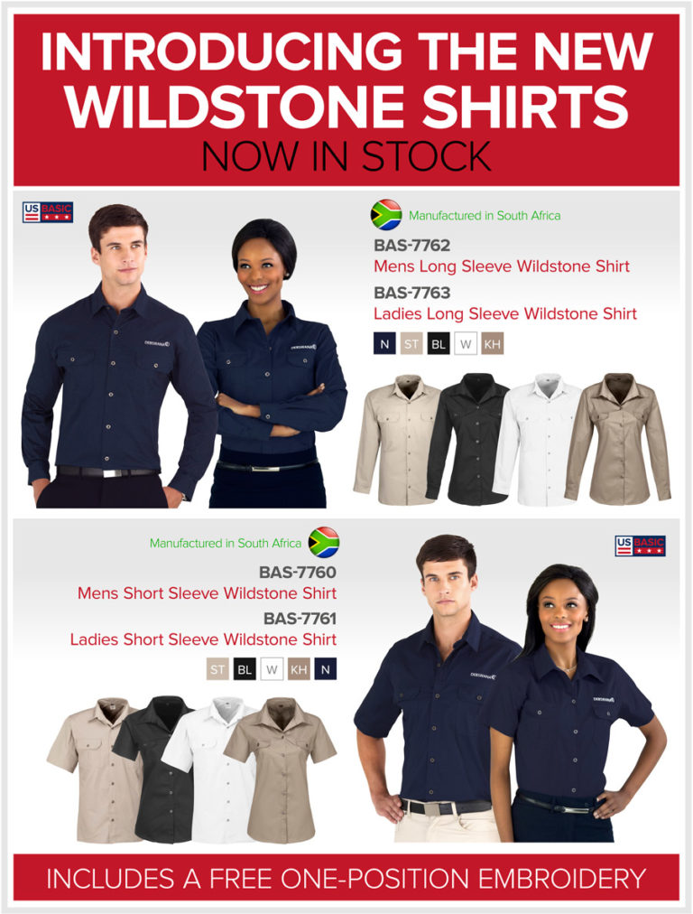 The New Wildstone Shirts