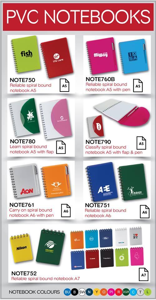 Note books- journals