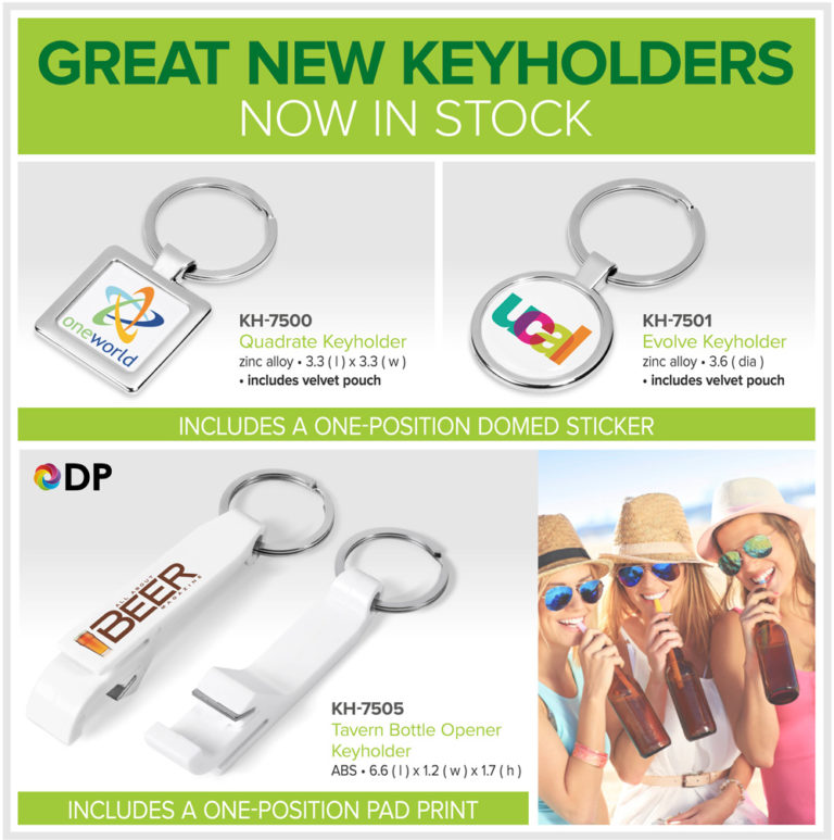 Great NEW Keyholders