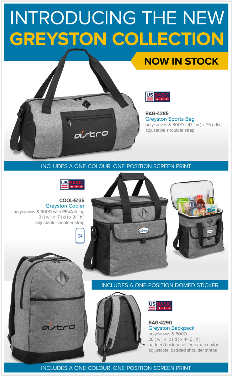 Greystone cooler bag and backpack