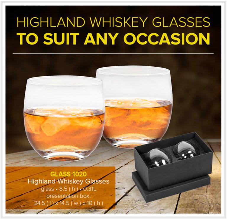Highland Whiskey Glasses