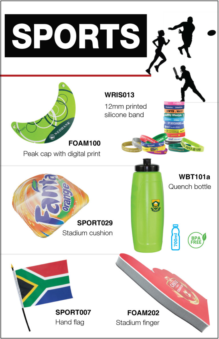 sports  event accessories