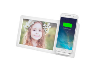 Dynasty Photo Frame and Wireless Charger