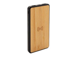 Askas - Memorii 8000 Mah Bamboo Wireless Powerbank (Anti-Microbial)
