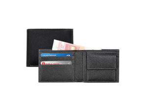 Cancun - Santhome Mens Wallet In Genuine Leather (Anti-Microbial)