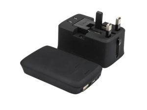 Derry - Memorii Travel Adapter With Powerbank